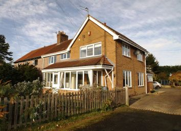 Thumbnail 4 bed semi-detached house to rent in Moor Lane, Stannington, Morpeth