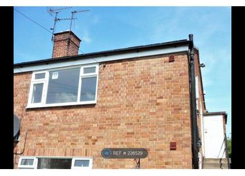 Thumbnail 1 bed flat to rent in Castle Donington, Derby