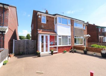 Thumbnail 3 bed semi-detached house for sale in St. Annes Road, Denton, Manchester