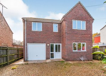 Thumbnail 4 bed detached house for sale in High Road, Gorefield, Wisbech