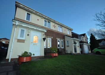 Thumbnail 3 bed semi-detached house for sale in Crowell Way, Walton-Le-Dale, Preston