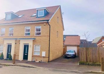 Thumbnail 4 bed semi-detached house for sale in Bank Avenue, Dunstable, Bedfordshire