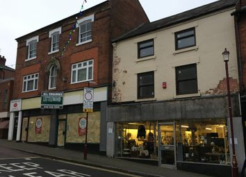 Thumbnail Retail premises for sale in Bath Street, Derbyshire