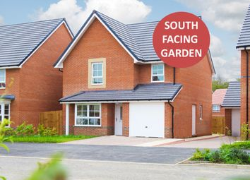 "Thumbnail 4 bed detached house for sale in ""Guisboro 1"" at Weddington Road, Nuneaton"