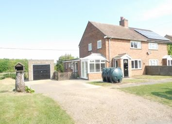Thumbnail 3 bed semi-detached house for sale in Little Hill, Great Bricett, Ipswich
