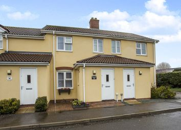 Thumbnail 2 bed terraced house for sale in West Carr Road, Attleborough