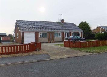 Thumbnail 3 bed bungalow to rent in Spridlington Road, Faldingworth, Market Rasen