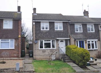 Thumbnail 3 bedroom end terrace house for sale in Jersey Close, Hoddesdon, Hertfordshire