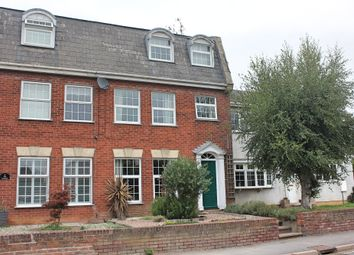 Thumbnail 4 bed town house for sale in The Crescent, Great Glen, Leicester