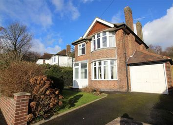 Thumbnail 3 bed detached house for sale in West Bank Road, Allestree, Derby