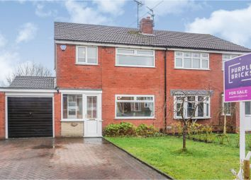 Thumbnail Semi-detached house for sale in Kenilworth Road, Macclesfield