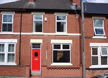 Thumbnail 3 bed terraced house to rent in Crown Street, Derby