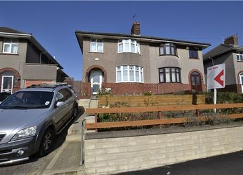 Thumbnail 3 bed semi-detached house for sale in Monks Park Avenue, Horfield. Bristol