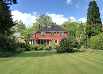 Thumbnail 4 bedroom detached house to rent in Ruxbury Road, Chertsey, Surrey