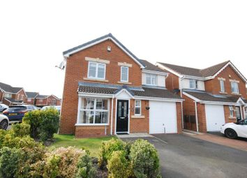 Thumbnail 4 bedroom detached house to rent in New Moor Close, Ashington