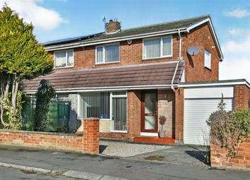 Thumbnail 3 bed semi-detached house for sale in Moor Crescent, Durham