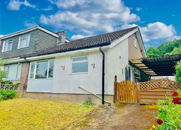 Thumbnail 2 bed semi-detached bungalow to rent in Westwood Drive, Treharris