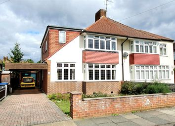 Thumbnail 5 bed semi-detached house for sale in Broadmead Avenue, Worcester Park