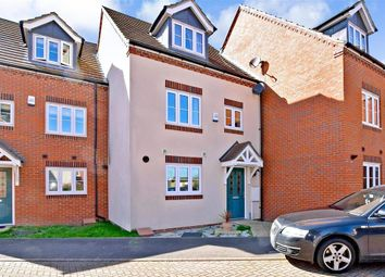 Thumbnail 4 bed town house for sale in Quarry Close, Gravesend, Kent