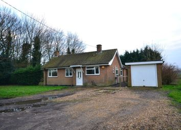 Thumbnail 3 bedroom detached bungalow to rent in White House Road, Little Ouse, Ely
