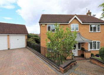 Thumbnail 4 bed detached house for sale in Fosbrook Drive, Castle Donington