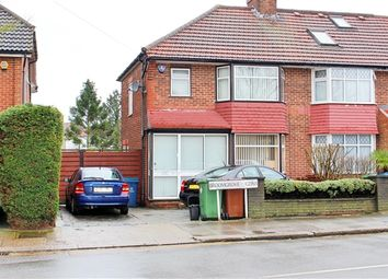 Thumbnail 4 bed end terrace house to rent in Broomgrove Gardens, Edgware