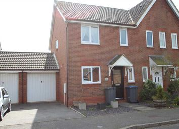 Thumbnail 3 bedroom semi-detached house for sale in Jeavons Lane, Grange Farm, Kesgrave, Ipswich