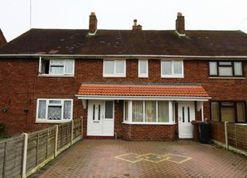 Thumbnail 3 bedroom terraced house to rent in Reservoir Close, Walsall