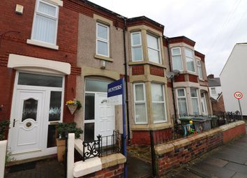 Thumbnail 3 bedroom terraced house to rent in Florence Road, Wallasey