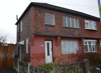 Thumbnail 3 bedroom semi-detached house for sale in St. Kildas Avenue, Droylsden, Manchester