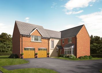 "Thumbnail 4 bed detached house for sale in ""The Mulberry"" at Knightley Road, Gnosall, Stafford"