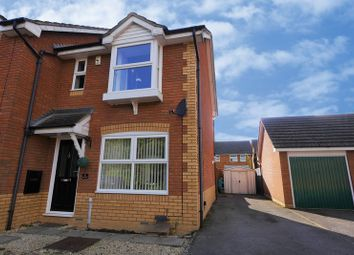 Thumbnail 2 bed semi-detached house for sale in Plym Drive, Didcot