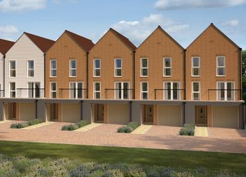 """Thumbnail 4 bedroom end terrace house for sale in """"Kensington End"""" at Roman Way, Rochester"""