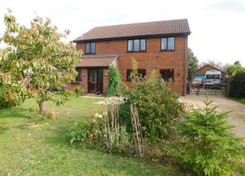 Thumbnail 4 bed detached house for sale in The Meadows, Station Road, Cotton, Stowmarket