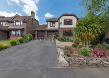 Thumbnail 4 bed detached house for sale in Beacons Close, Rogerstone, Newport.