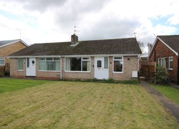 Thumbnail 2 bedroom semi-detached bungalow for sale in Stones Close, York