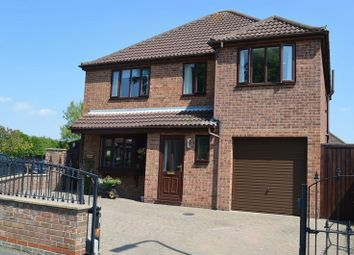 Thumbnail 4 bed detached house for sale in Low Church Road, Middle Rasen, Market Rasen