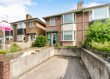 Thumbnail 3 bed semi-detached house for sale in Wombwell Crescent, Plymouth