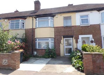 Thumbnail 3 bed terraced house for sale in Brackley Road, Bedford, Bedfordshire, .