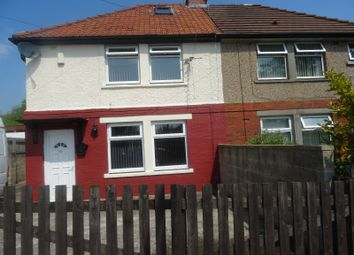 Thumbnail 3 bedroom semi-detached house to rent in Oaks Lane, Bradford, West Yorkshire