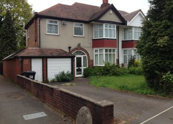 Thumbnail 4 bedroom semi-detached house to rent in Hamlet Road, Hall Green, Birmingham