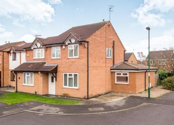 Thumbnail 4 bed semi-detached house for sale in Gothic Close, Nottingham