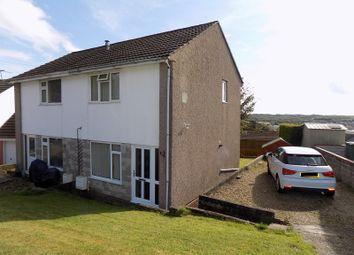 Thumbnail Semi-detached house for sale in St. Lukes Close, Llanharan, Pontyclun, Rhondda, Cynon, Taff.