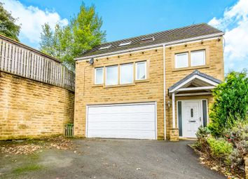 Thumbnail 4 bed detached house for sale in Thick Hollins Drive, Meltham, Holmfirth