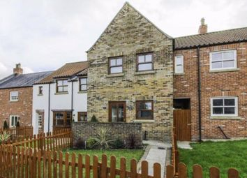 Thumbnail 2 bed terraced house for sale in Cobble Field, Langtoft, Driffield