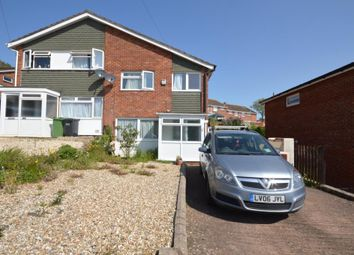 Thumbnail 3 bed semi-detached house to rent in Barley Farm Road, Exeter, Devon