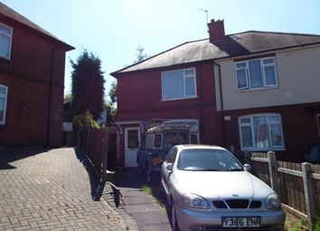 Thumbnail 2 bedroom semi-detached house for sale in Primrose Crescent, Carlton, Nottingham