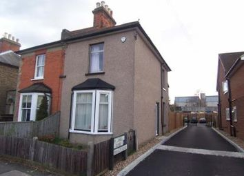 Thumbnail 1 bed semi-detached house to rent in Heathcote Road, Epsom