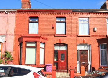 Thumbnail 3 bedroom terraced house for sale in Granville Road, Wavertree, Liverpool