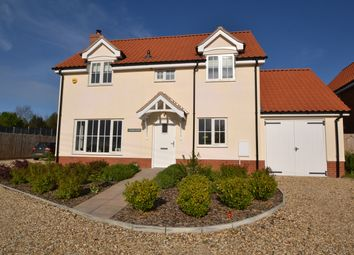 Thumbnail 4 bed detached house for sale in Low Street, Bardwell, Bury St. Edmunds